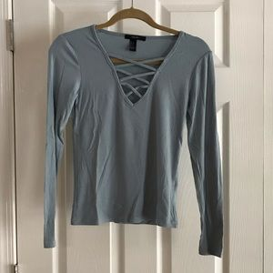 Worn Once Forever 21 Ribbed Shirt